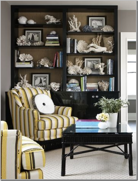 Simply Irresistible...Designs!: Painted Backs in Bookcases